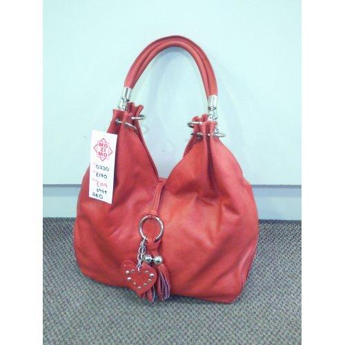 Handbags Luana Ferracuti Borsa 0330 Women's leather slouch bag