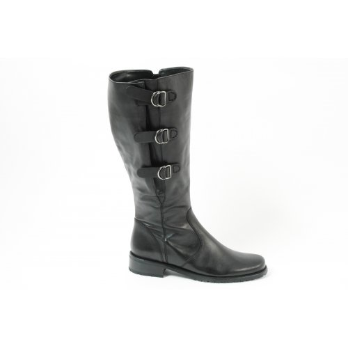 Shoes Gabor Scilly 32.759.57 adjustable width tall boots in black