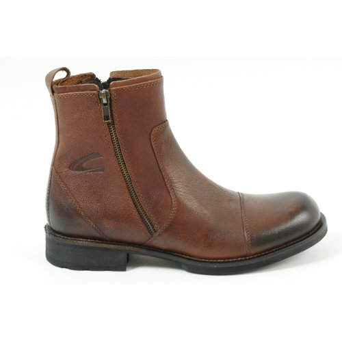 Shoes Camel Active Nevada Botham 309.13.02 men's smart boot in brandy leather