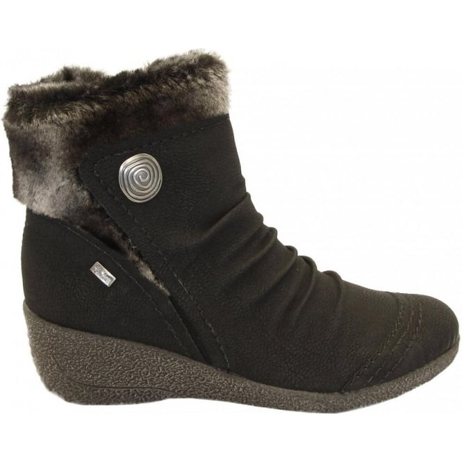 Shoes Low Shoes Boots Noomi Mombasa fur trim All-Weather short boots