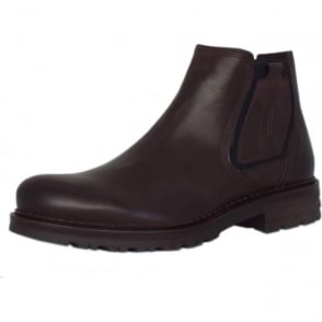 Ronnie Seoul Leather Chelsea Boot in Mocca