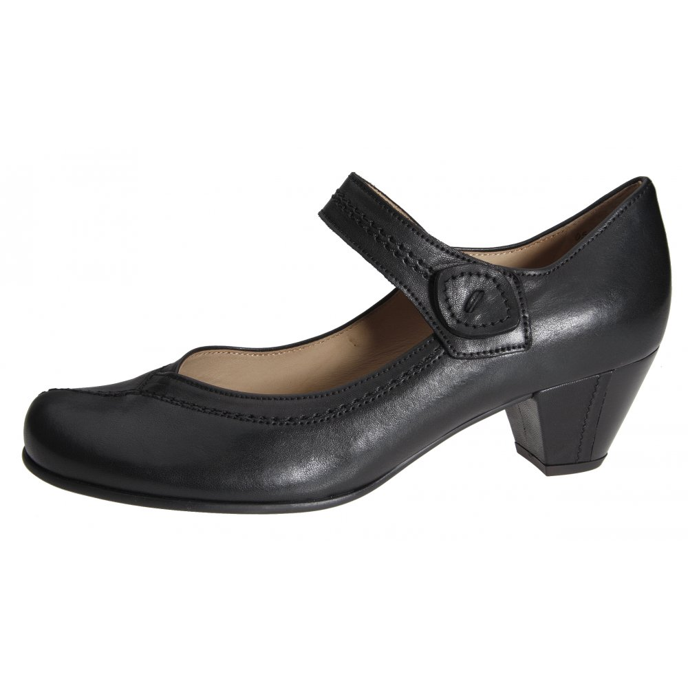 Gabor Ladies Dolcie Mary Jane Shoe In Brown From Mozimo