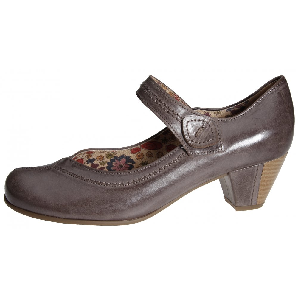 gabor ladies dolcie mary jane shoe in brown from mozimo. Black Bedroom Furniture Sets. Home Design Ideas