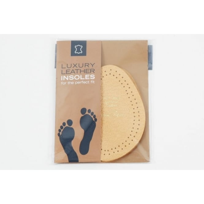 1/2 Insole Premium Leather - Breathable