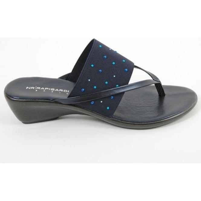 c1a993d0969 Rapisardi 4836 womens low wedge sandals