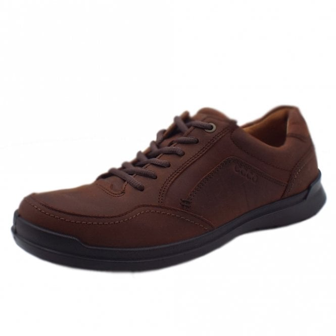 ECCO 524534 Howell Men's Lace-up Shoes in Cognac