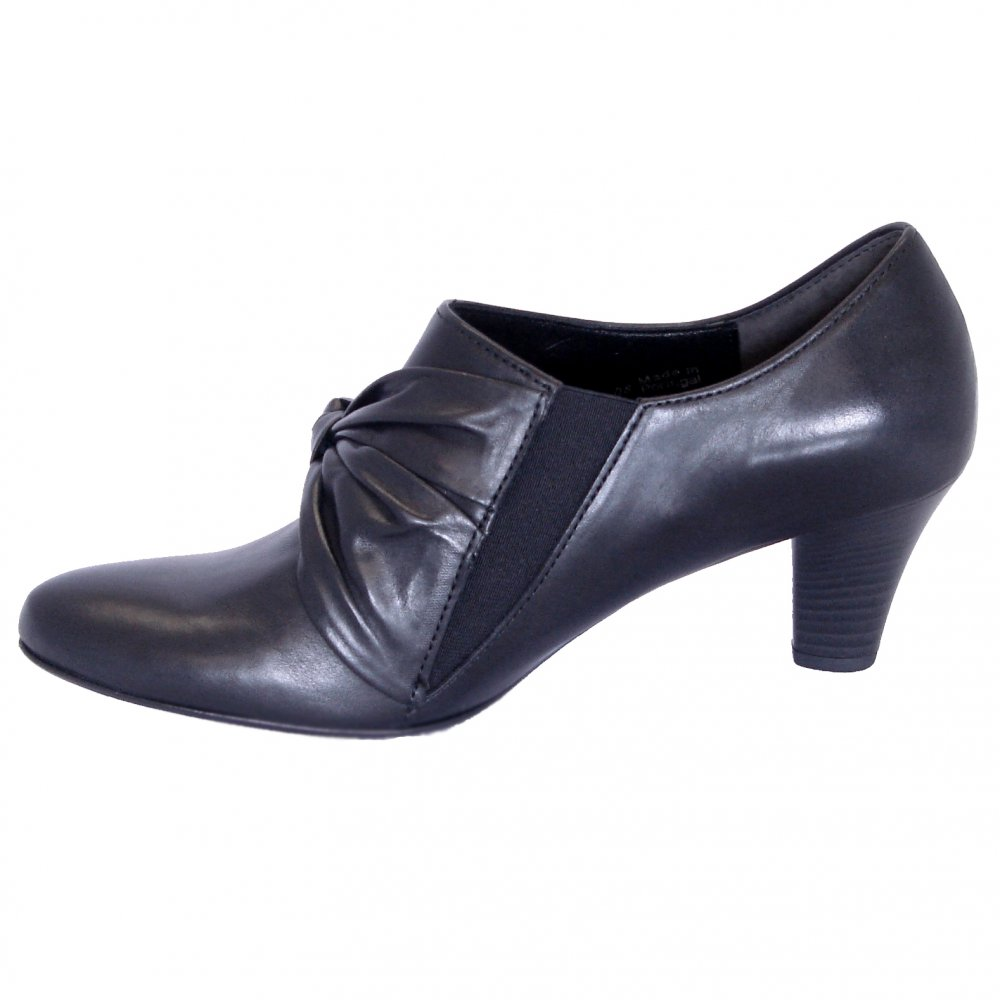 gabor shoes high cut trouser shoe in black mozimo