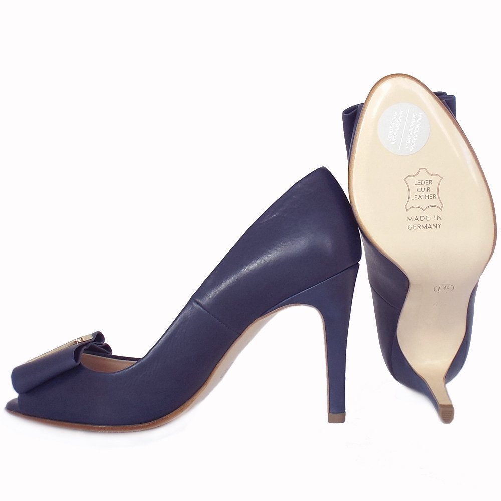 kaiser s high heel peep toe shoes in