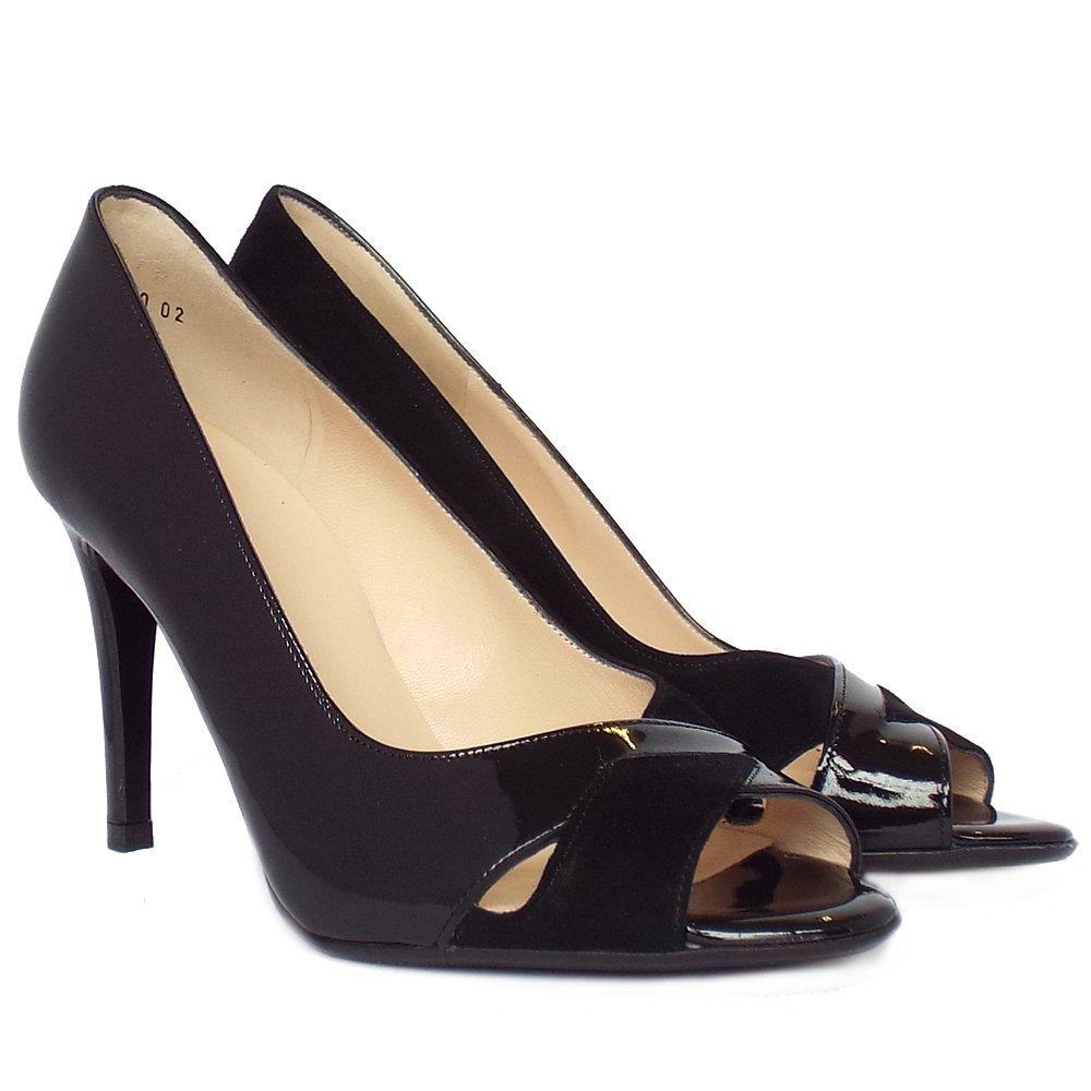 kaiser alda s dressy high heel peep toe