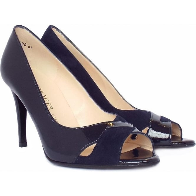 Buy navy peep toe shoes cheap,up to 42