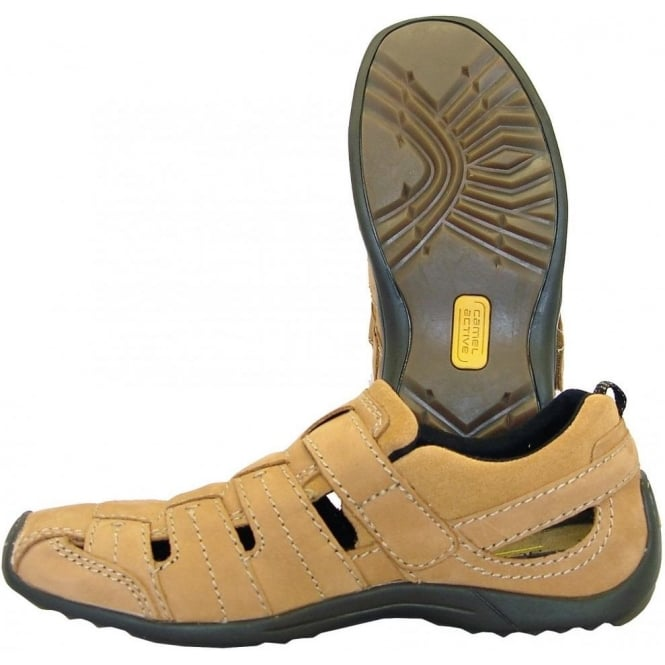 low priced 06ef0 0ef75 Camel Active Ali Manila mens summer shoes in nut colour oiled nubuck