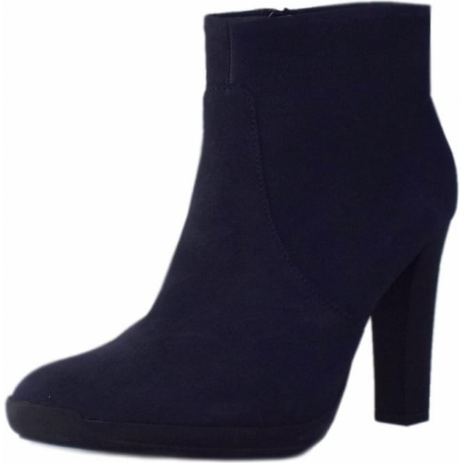 Peter Kaiser Anah Fashion Ankle Boot in Notte Moritz