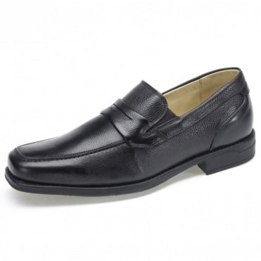 Barbosa Penny Loafers in Black