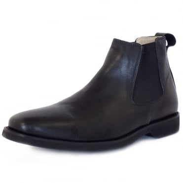 Cardoso Men's Pull On Chelsea Boots in Black