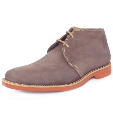 Colorado Mens Desert Boots in Cappuccino Nubuck