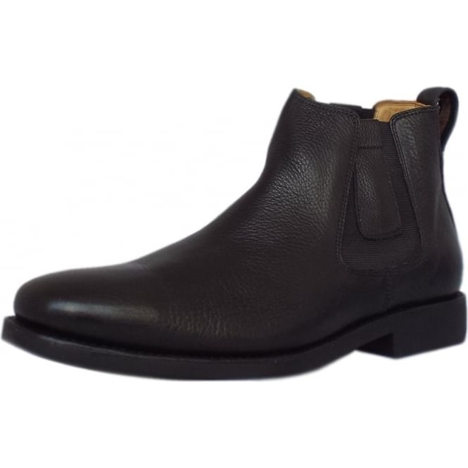 Anatomic&Co Natal Classic Mens Pull-on Black Leather Chelsea Boot
