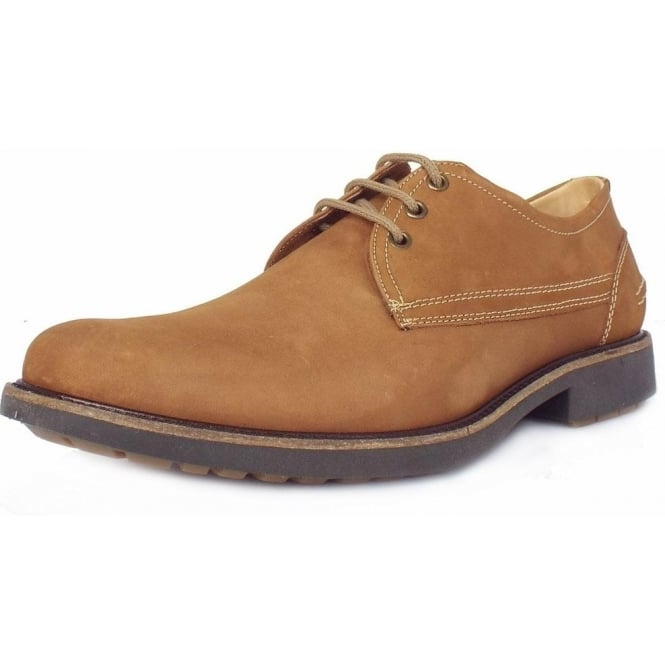 Anatomic&Co Pinhal Men's Light Brown Nubuck Lace-Up Shoes