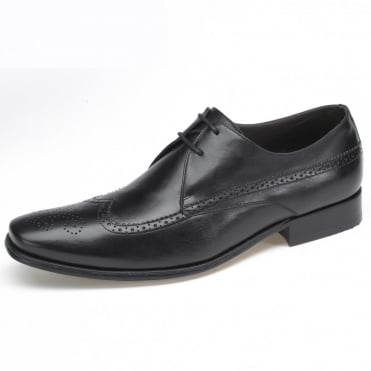Suzano Mens Brogues in Black