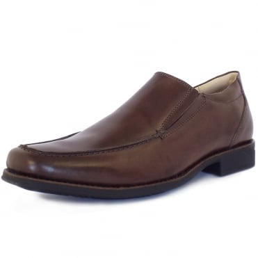 Tapera Men's Smart Casual Slip-On Shoes in Brown