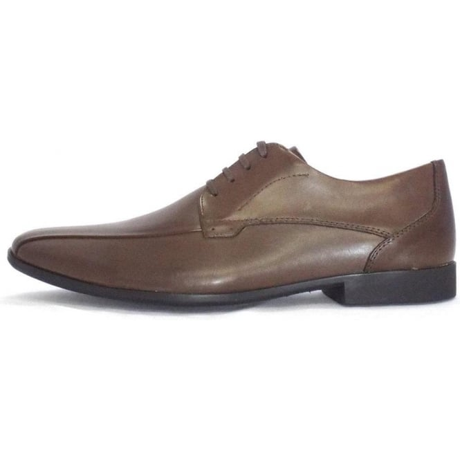 Anatomic&Co Tapua Mens Leather Lace Up Shoe In Cognac