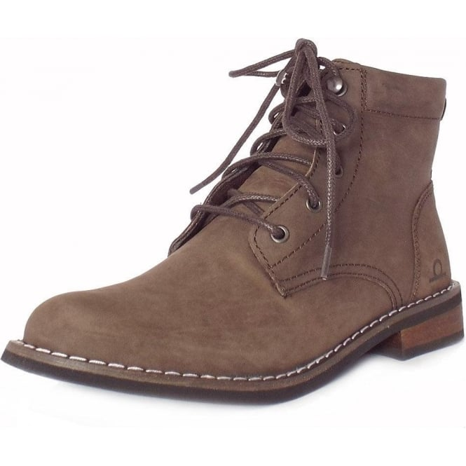 Chatham Marine Annie Women's Lace-Up Ankle Boots in Brown