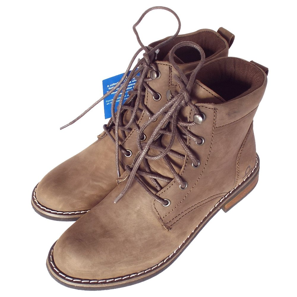 Chatham Marine Annie Brown | Women's Modern Casual Lace-Up Ankle Boots