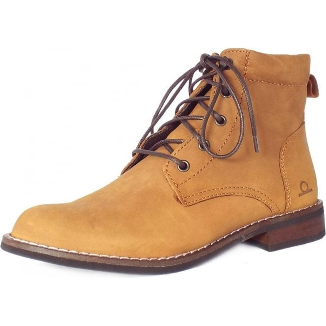 17fc142399a4 Chatham Marine Chatham Marine Annie Women's Lace-Up Ankle Boots in Tan