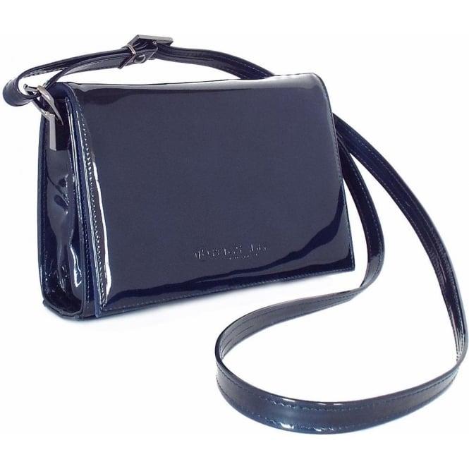 navy shoulder bag womens