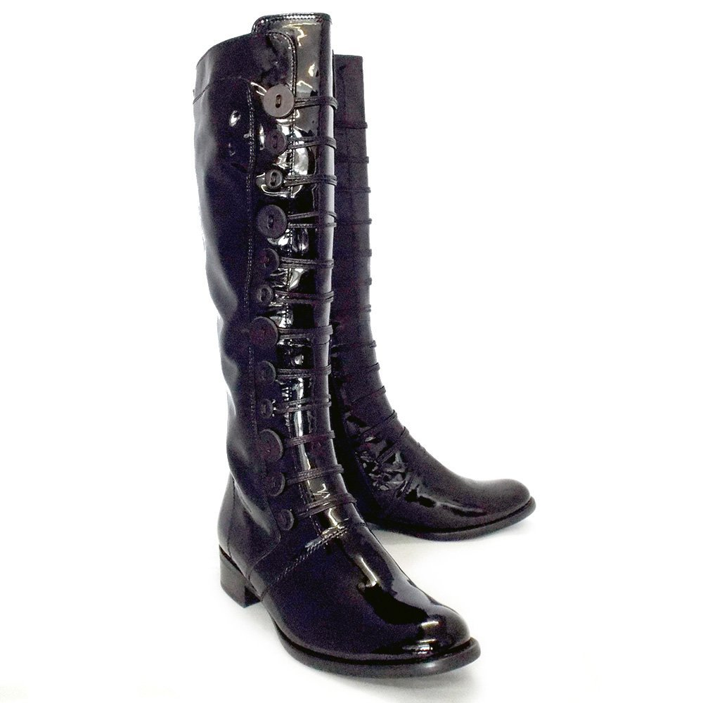 Free shipping BOTH ways on black patent leather boots, from our vast selection of styles. Fast delivery, and 24/7/ real-person service with a smile. Click or call