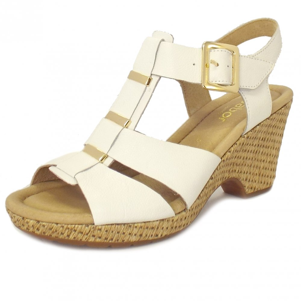 ac7951553824 White Ladies Wedge Sandals ~ Ladies Wedge Sandals