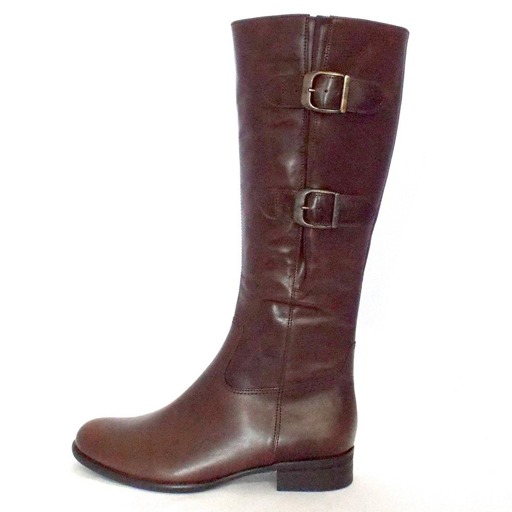 Gabor Boots Astoria Ladies Knee High Boots In Brown Mozimo