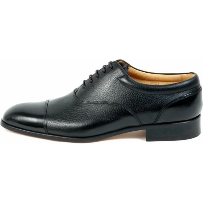 Jenkins Mens Formal Lace Up Shoes In Black
