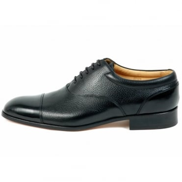 Jenkins Mens Formal Lace-Up Shoes In Black
