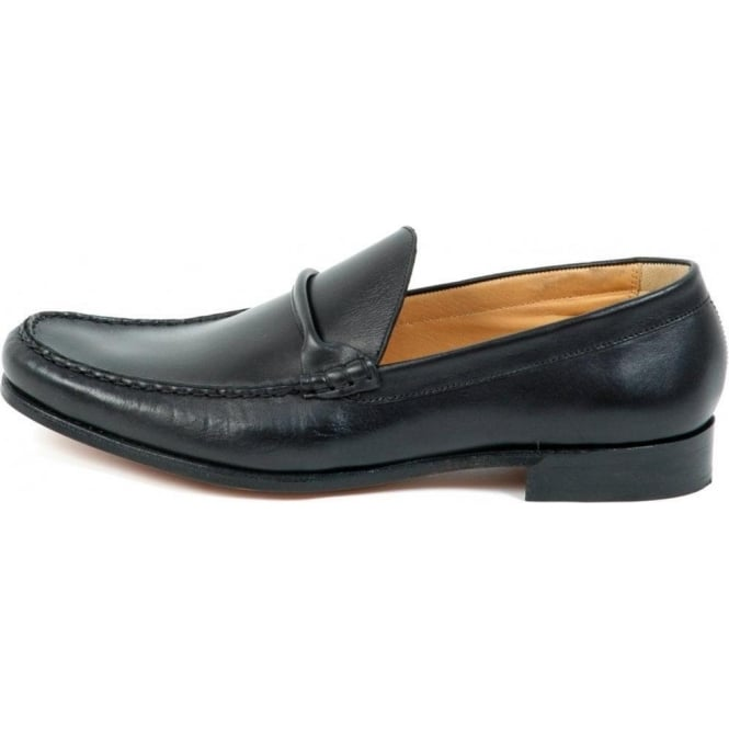 Barker Joe Mens Smart Moccasin In Black