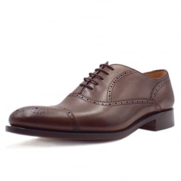 Newcastle Men's Smart Formal Oxford in Walnut