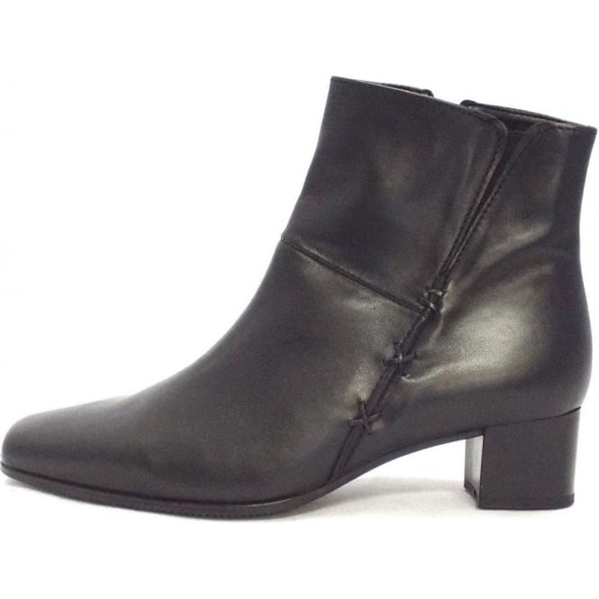 8a3dfd901 Gabor Boots | Bassanio Womens Wide Fit Ankle Boot in Black | Mozimo