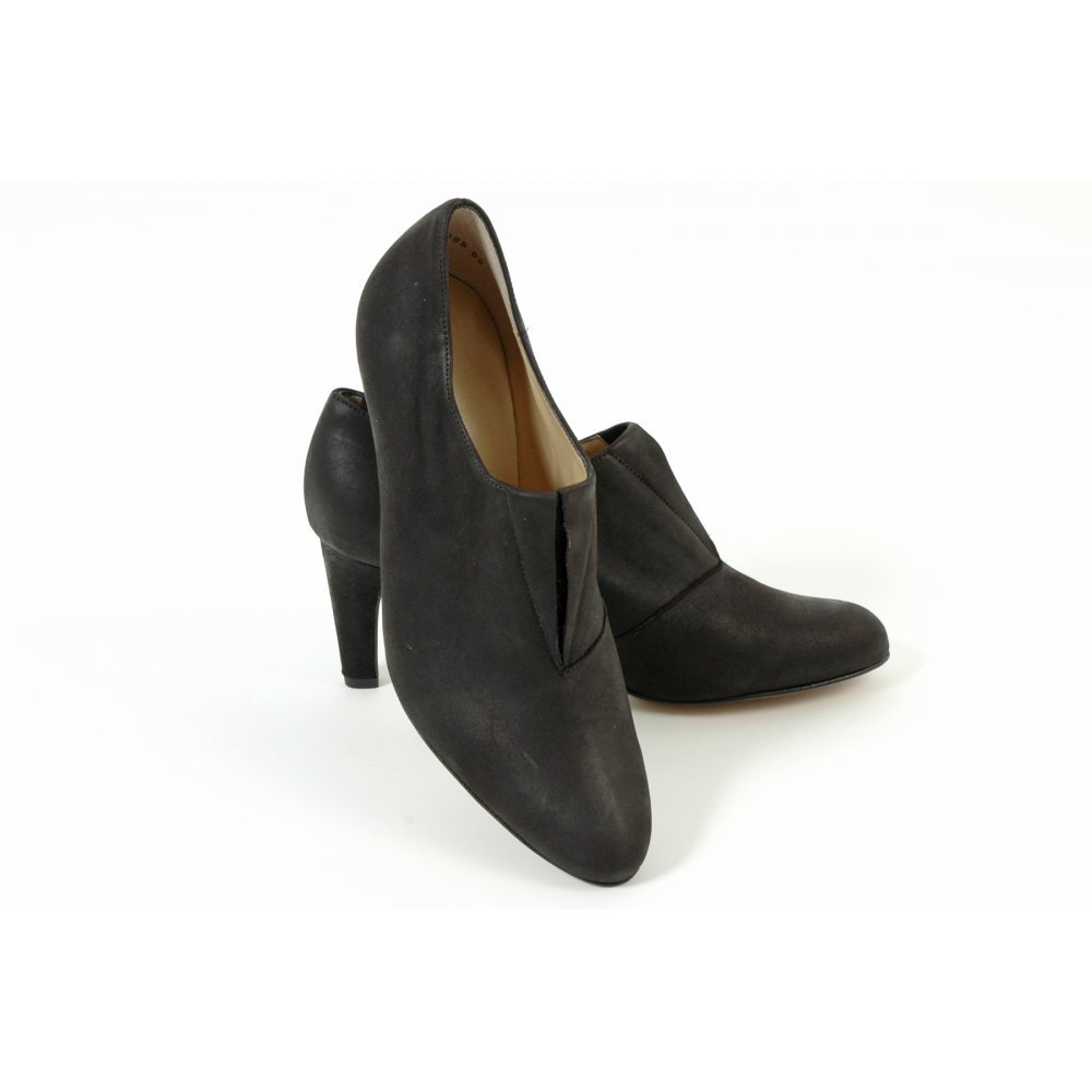 kaiser black nubuck batty shoes new season in stock