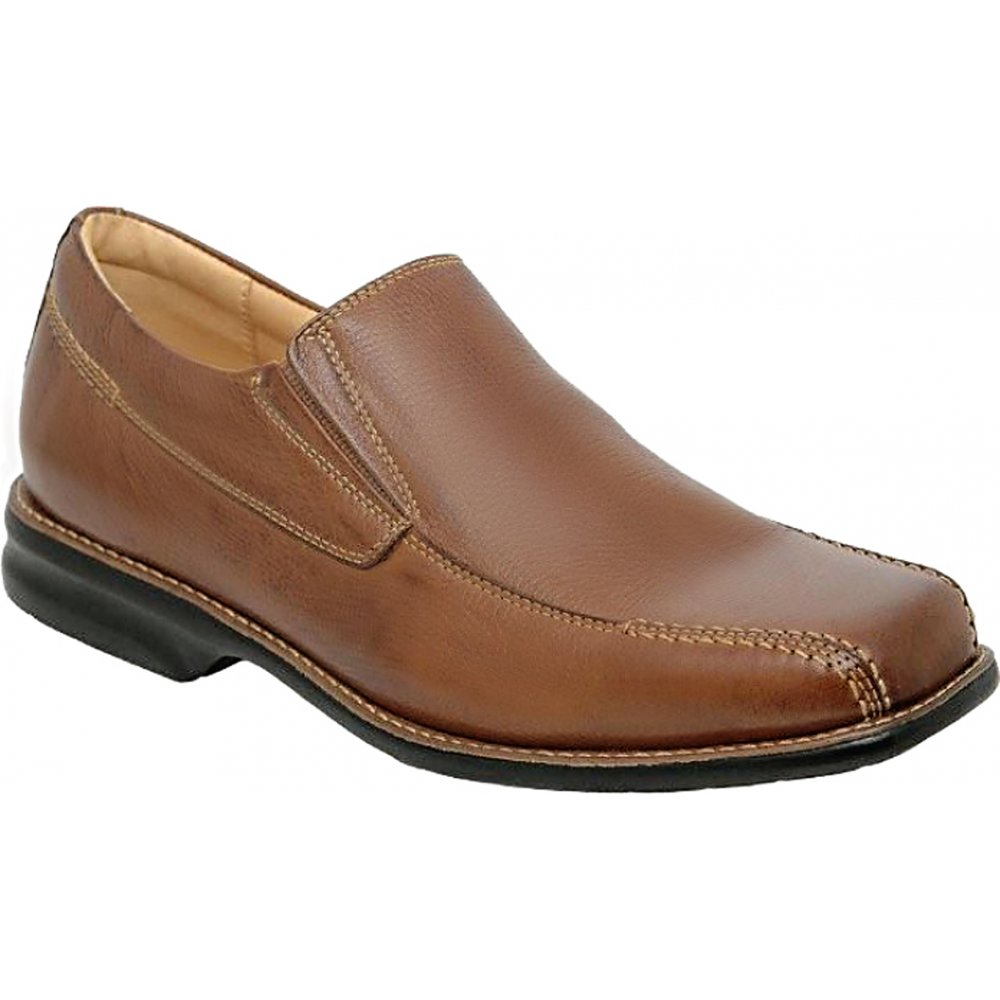 anatomic gel belem mens slip on shoe soft leather mens