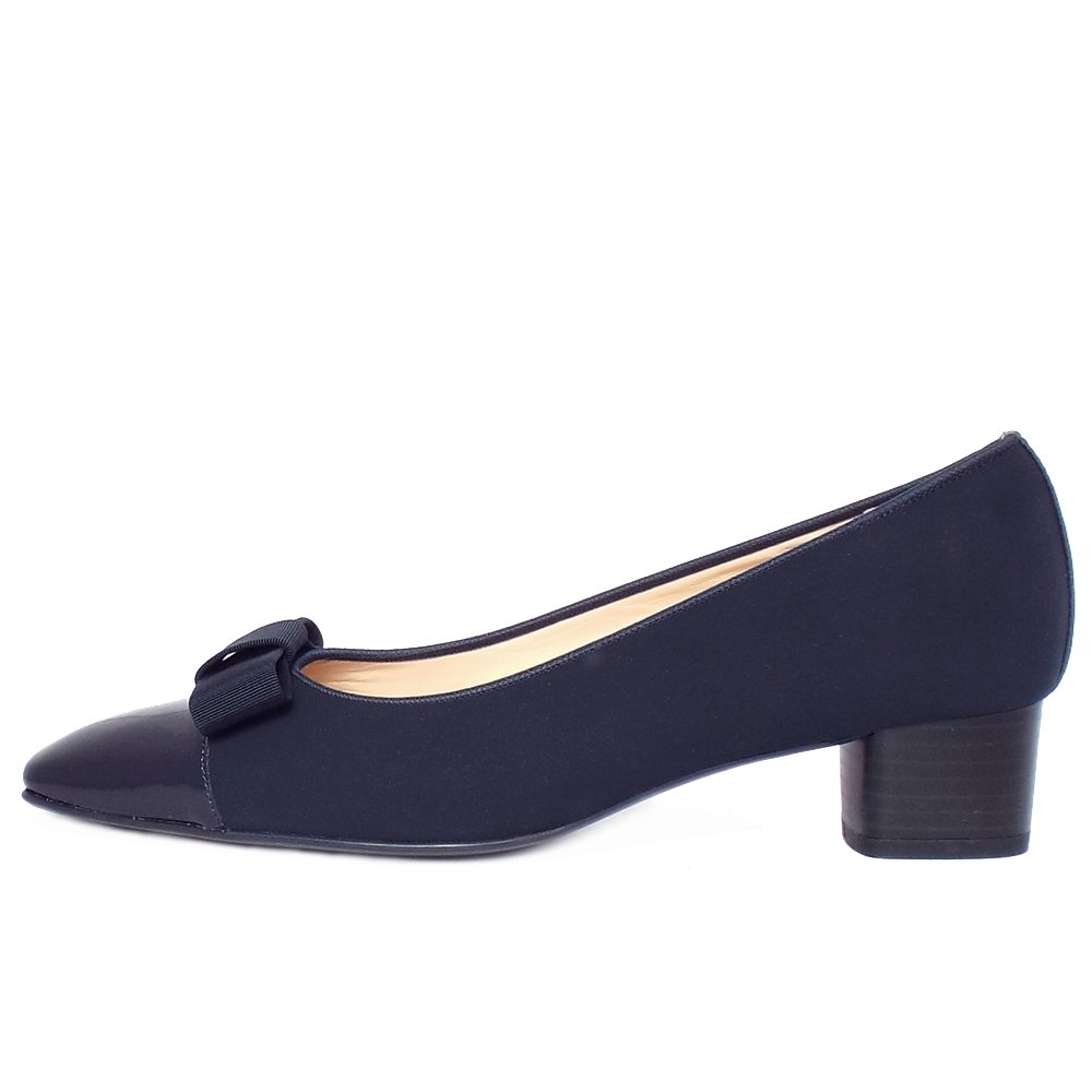 Navy Court Shoes Size