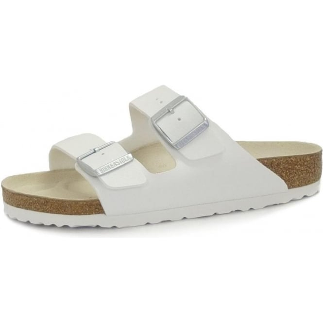 f35dc42cb8 Arizona Two Strap Ladies Sandals in White