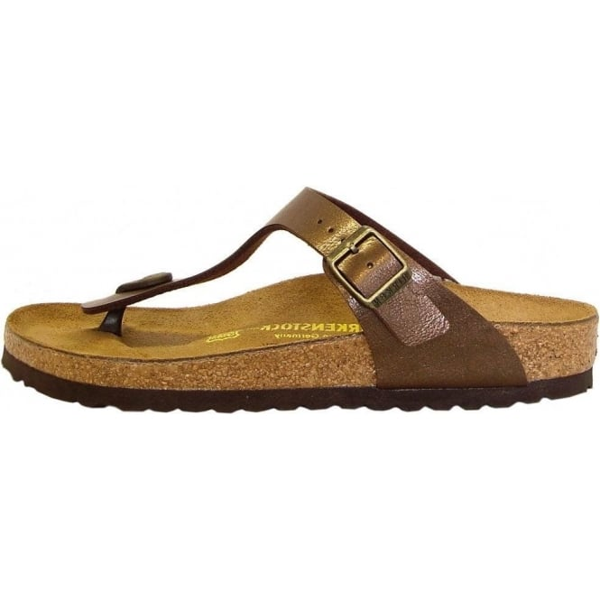 b920a4c83 Gizeh Thong Sandals in Toffee