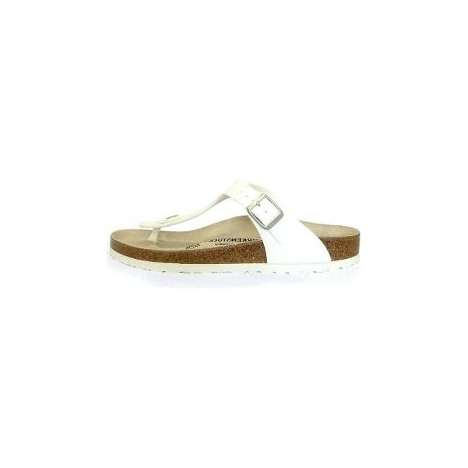 d8ca2d4e075d Gizeh Thong Sandals in White