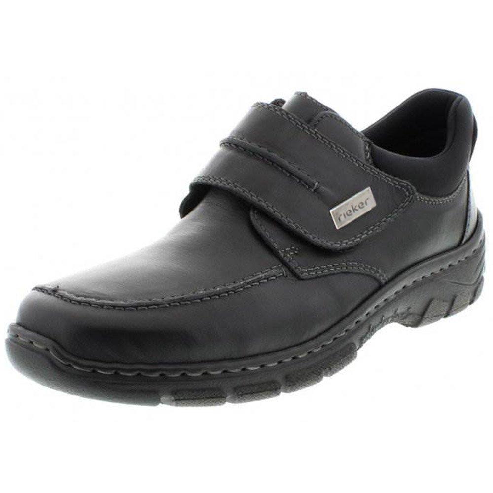 Boston Mens Black Shoe Wide