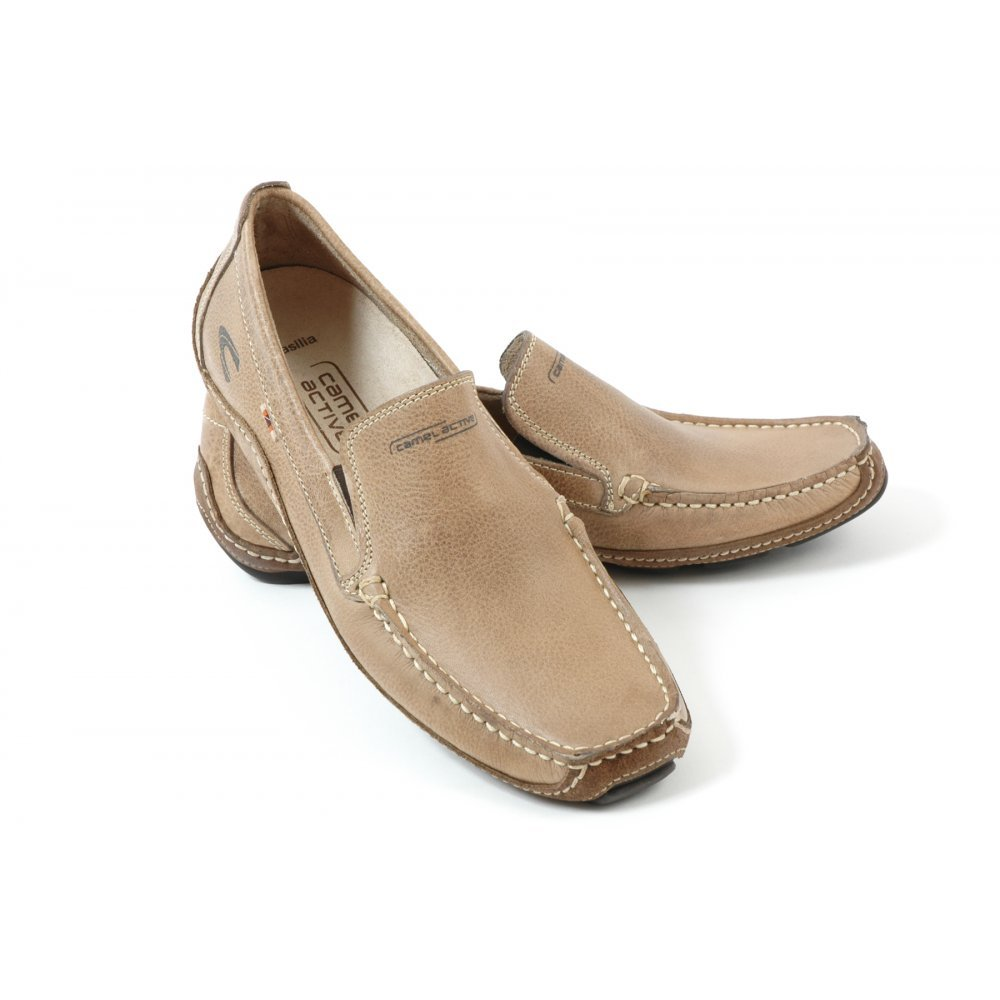 camel active brasilia mens slip on casual loafer shoe