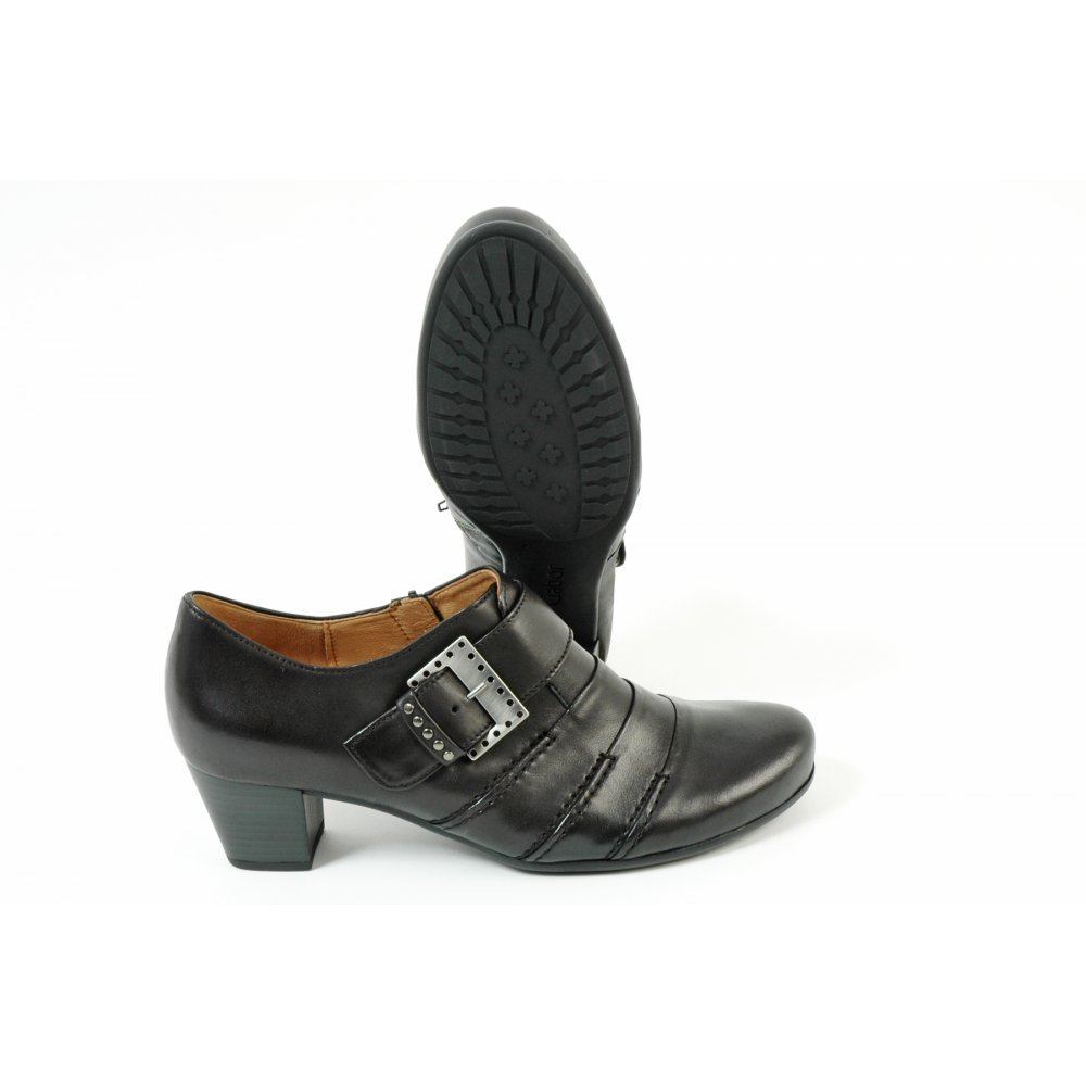 gabor boots bridge shoe in black mozimo