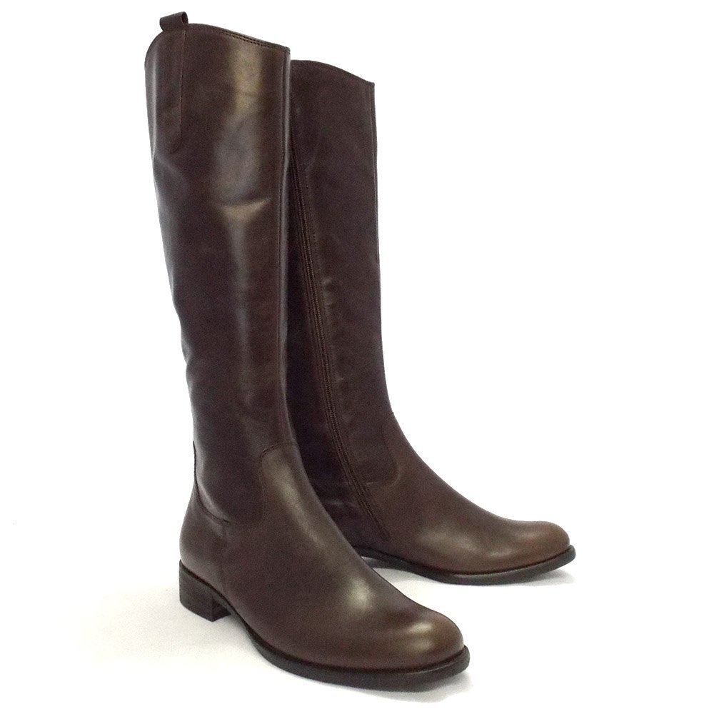 gabor boots brook boots in brown mozimo