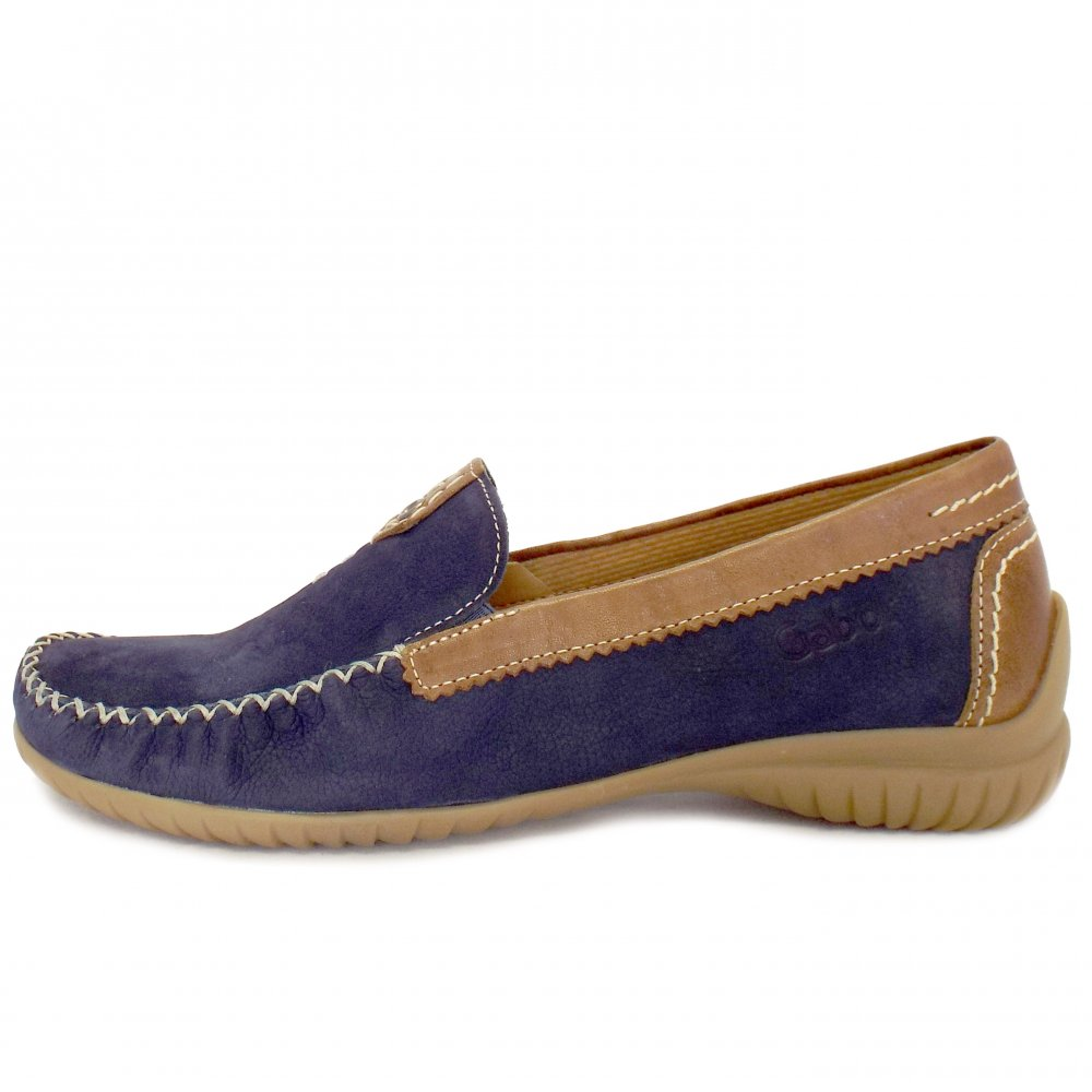 Gabor Shoes California Womens Wide Fitting Ladies Loafer