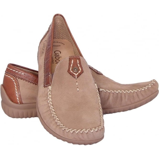 708f1f8c538 California Womens Wide Fitting Loafer In Beige