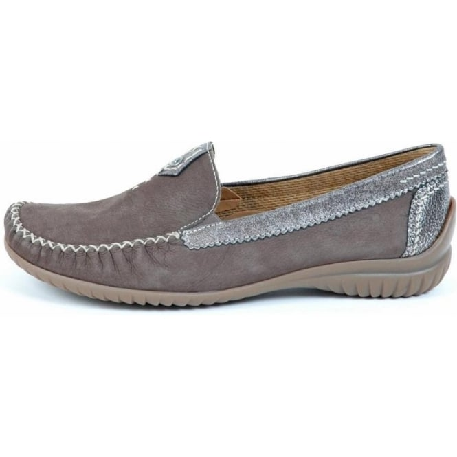 f21204224b6 California Womens Wide Fitting Loafer In Grey