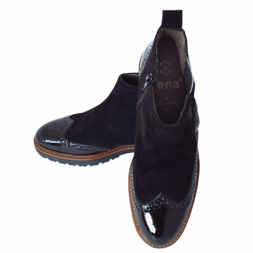 cambridge s trendy wide fit brogue style